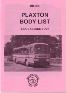 BB166 Plaxton bodies 1976